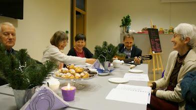 Photo: Na stole stały pyszności - dzieła naszych rąk.