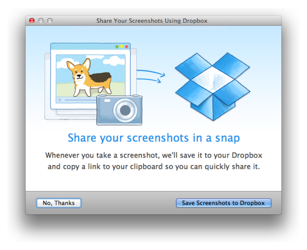 Dropbox Adds Automatic Screenshot Uploading for Mac and PC