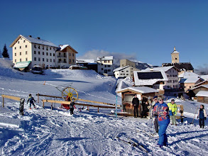 Photo: Stierva - Am Skilift
