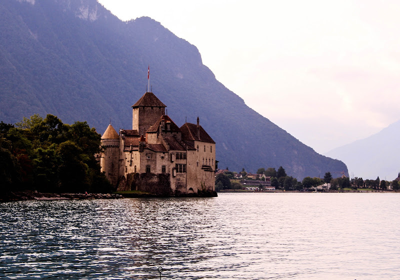 Gustave Courbet,Le château de Chillon di caterina_kitta
