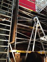 Photo: キリスト降架は残念ながら修復中で見られませんでした。でも、足場の組まれたキリスト降架を見られるのも貴重なことかも~。