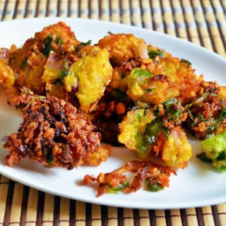 Sweet Corn-channa Dal Fritters