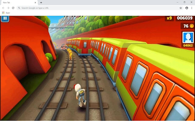 Subway Surfers 2021 Wallpapers and New Tab