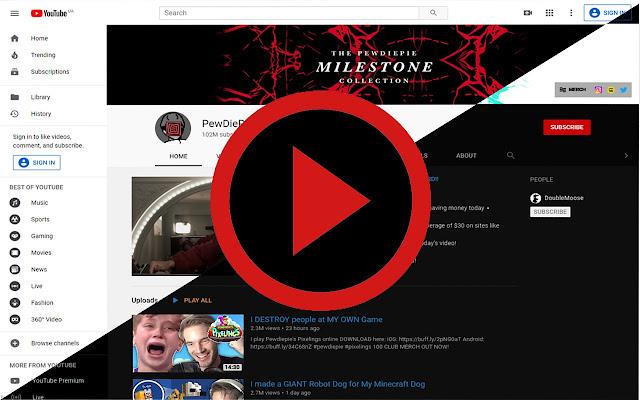Dark Theme for Youtube