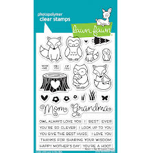 Lawn Fawn Clear Stamps 4X6 - Mom & Me