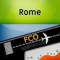 Leonardo da Vinci Airport (FCO) Info + Tracker icon
