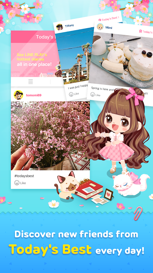 Line play our avatar world android apps on google play line play our avatar world screenshot stopboris Gallery