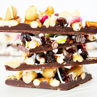 Trail Mix Candy Bark.