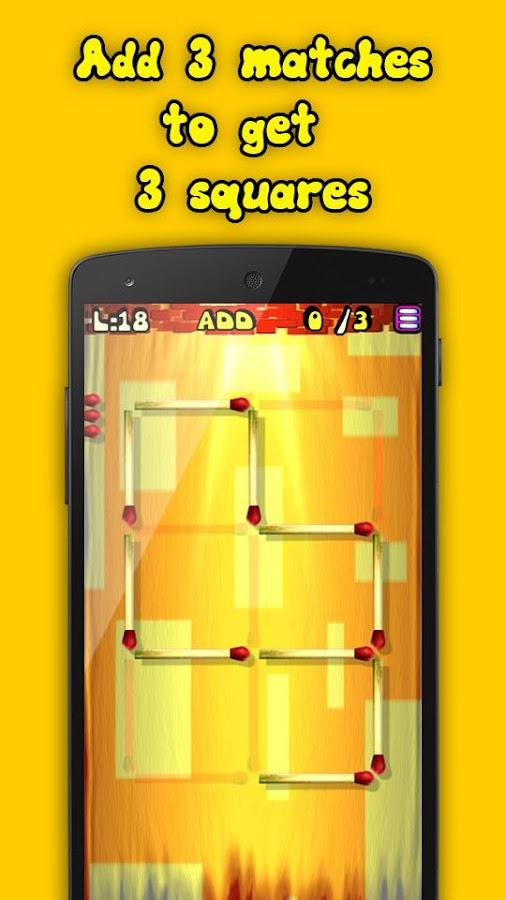Matches Puzzle Game- screenshot