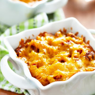Cheesy Beef Bake