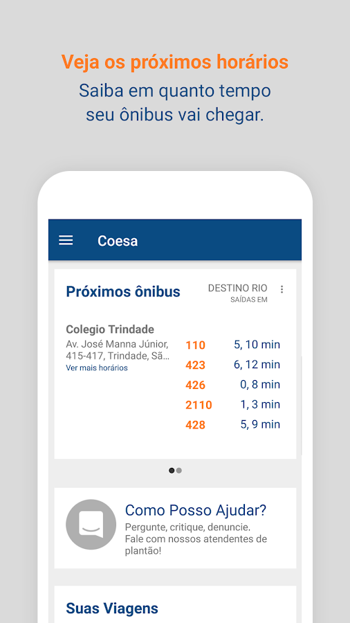 Coesa - Transporte Público- screenshot