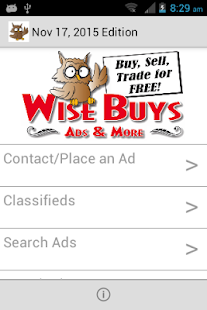 Wise Buys Ads- screenshot thumbnail