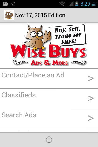 Wise Buys Ads- screenshot