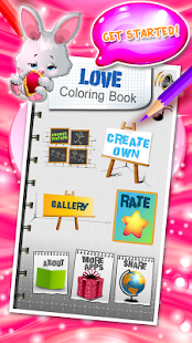 Love Coloring Book - náhled
