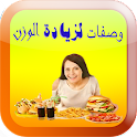 recipes to Gain Weight arabic icon