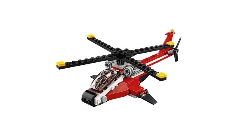 Contenido de Lego® 31057 Estrella Aérea
