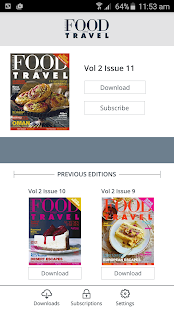 Food & Travel Arabia- screenshot thumbnail