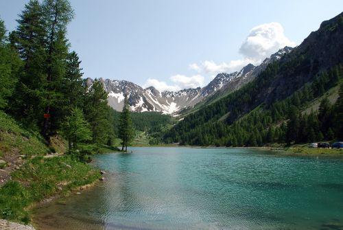 photo du lac de l'orceyrette