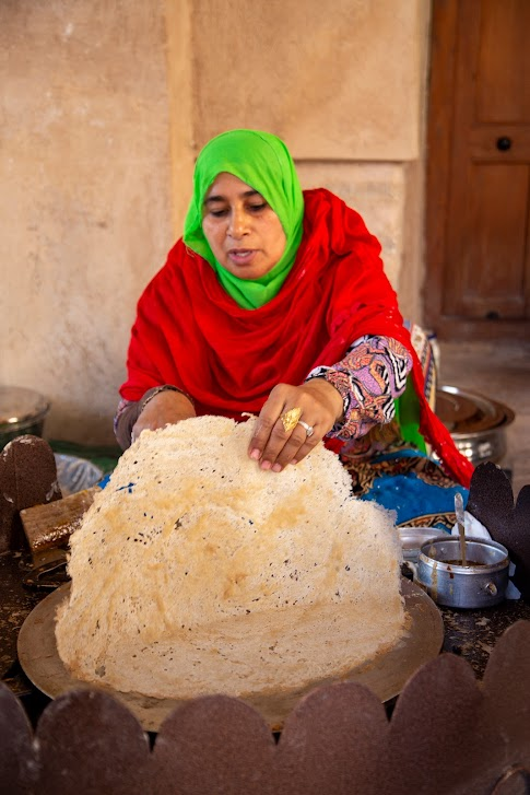 Omański chleb, omani bread, omańska kuchnia