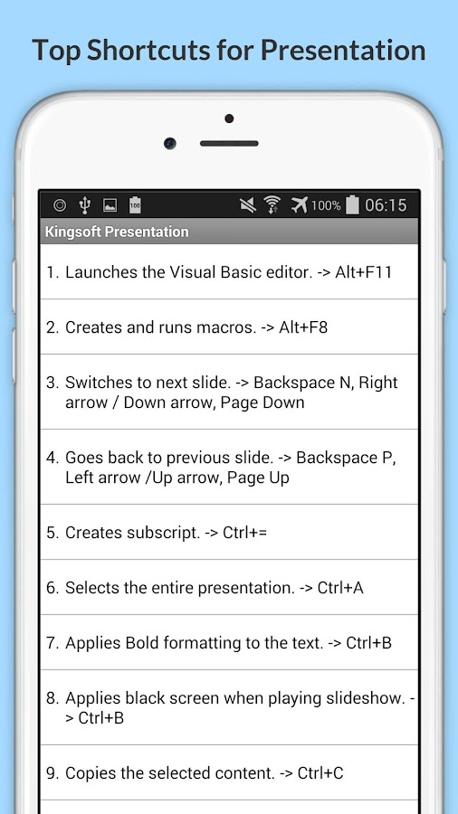 Hotkey for screenshot android app