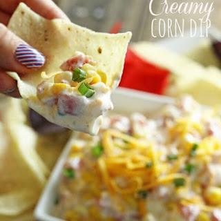 5 Minute Creamy Corn Dip