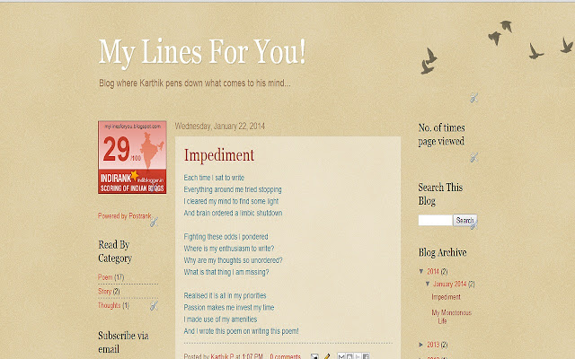 My Lines For You