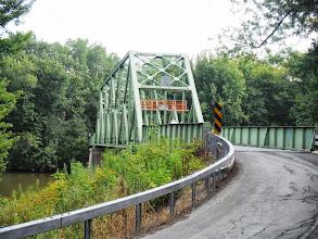 Photo: Day 49 Farmington to Oneida Shores Lake NY August 6 2013  One lane bridge out in the sticks of NY