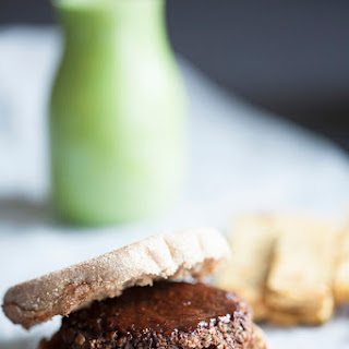 Lentil Tamarind Barbecue Burgers with Chickpea Fries (Gluten Free) Recipe