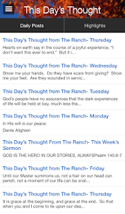 This Day's Thought / The Ranch- screenshot thumbnail