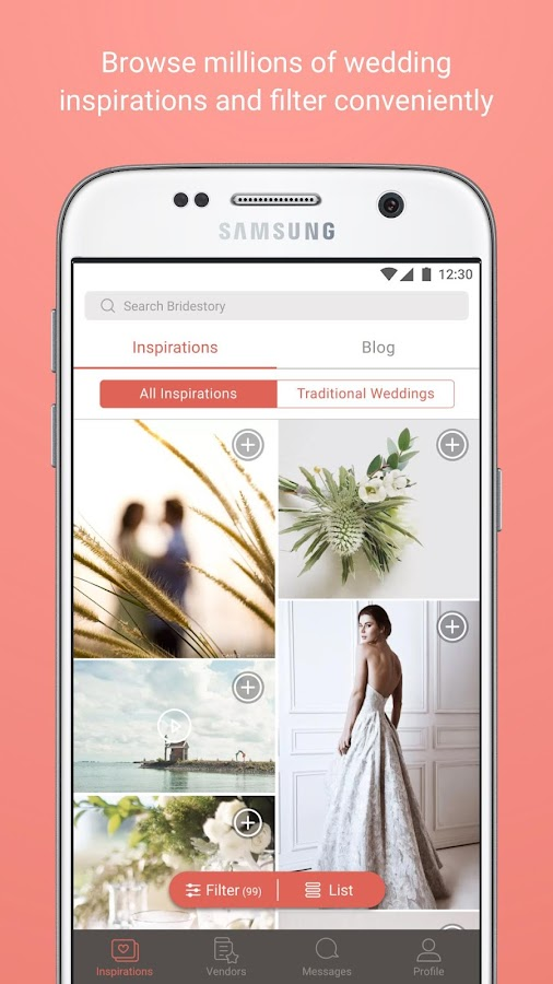 Bridestory - Wedding App- screenshot