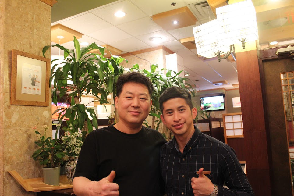 The owner and I