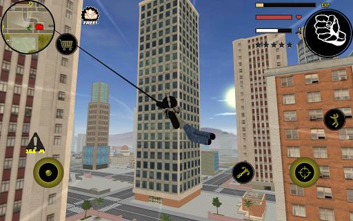 Stickman Rope Hero screenshot 5