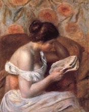 "Photo: Pierre-Auguste Renoir, ""Donna che legge"" (1877)"