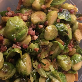 Brussel Sprouts with Pancetta.