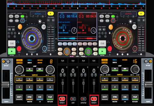 Virtual MP3 Music Mixer  screenshots 3