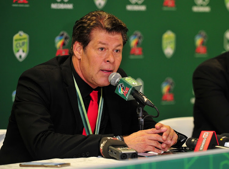 Luc Eymael is back in the Premier Soccer League.