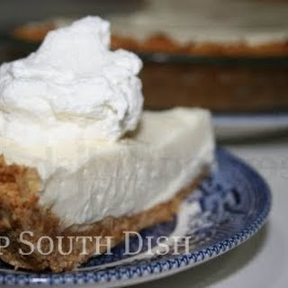 Coconut Key Lime Pie.