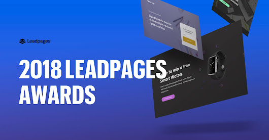 2018 Leadpages Awards