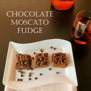 Chocolate Moscato Fudge.