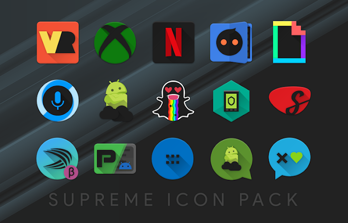 Supreme Icon Pack v3.0