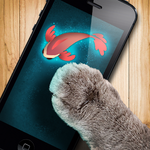 Fish game toy for cats android apps on google play for Fish cat game