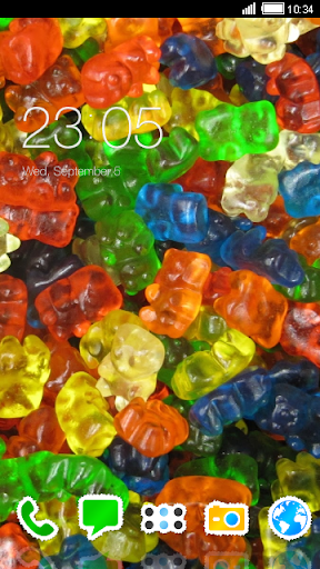 Gummy Bears CLauncher Theme