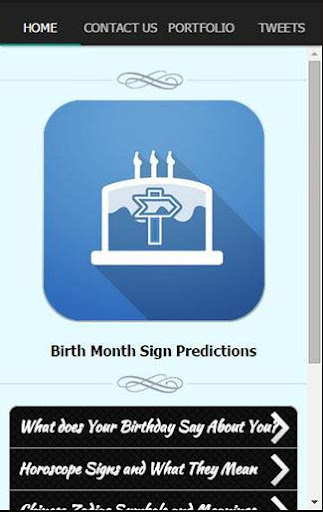 Birth Month Sign Predictions