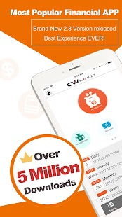 CWMoney Expense Track - Best Financial APP ever! - náhled