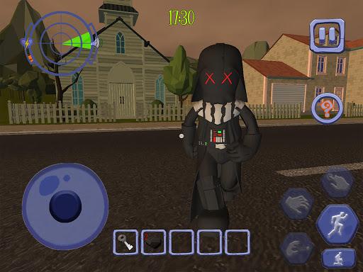 Scary Clown Sponge Vader Neighbor. Escape apkdebit screenshots 12