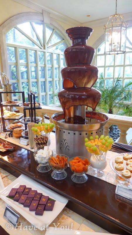 The Lobby's fondue