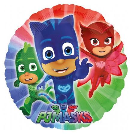 Folieballong - Pyjamashjältarna