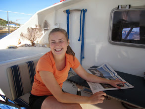 Photo: and Helene Fischer who we had so much fun with when she sailed with us in Los Roques, Venezuela with her parents and two brothers.