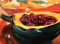 Cranberry Stuffed Squash Recipe