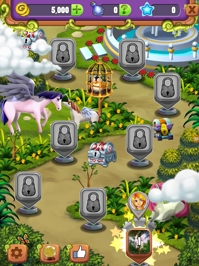 Hidden Mahjong Unicorn Garden- screenshot